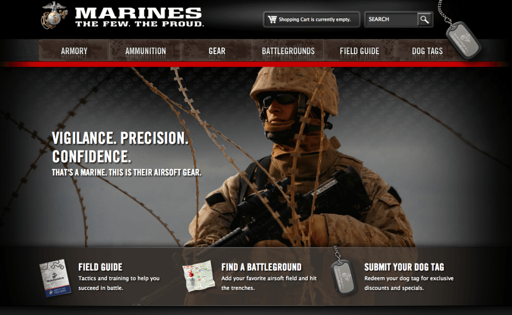 marines-website